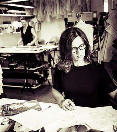 Franziska Nardini, Modedesign