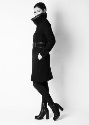 Nardini Collection - Schmaler Caban Mantel aus Alpacka
