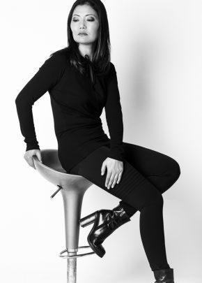Nardini Collection - Taillierte Raglan Tunika mit Slim Pants